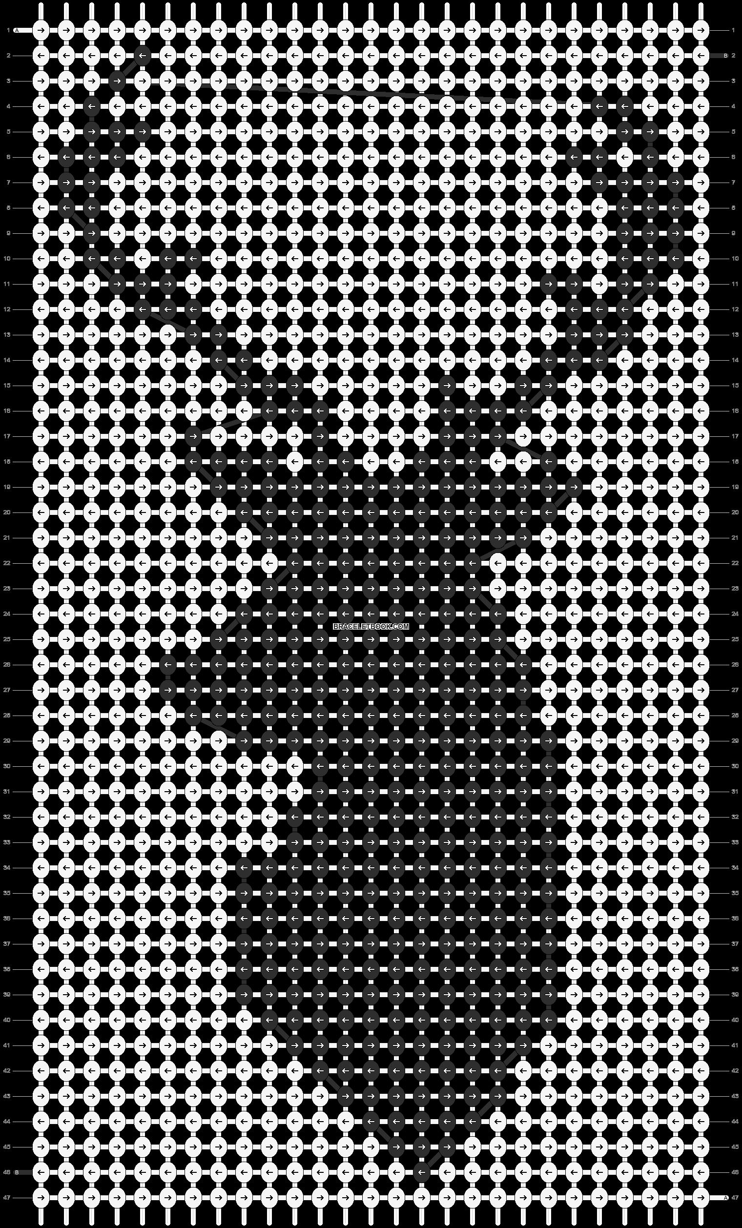 Alpha pattern #11887 pattern