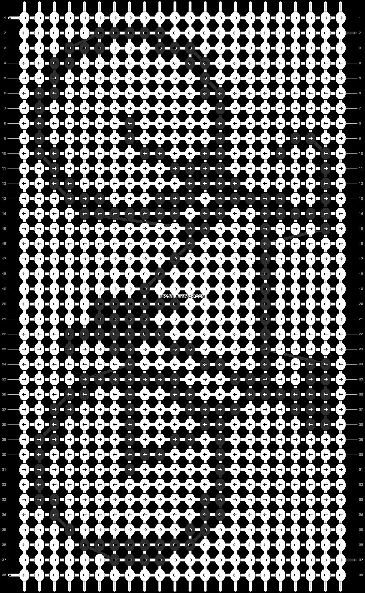 Alpha pattern #11888 pattern