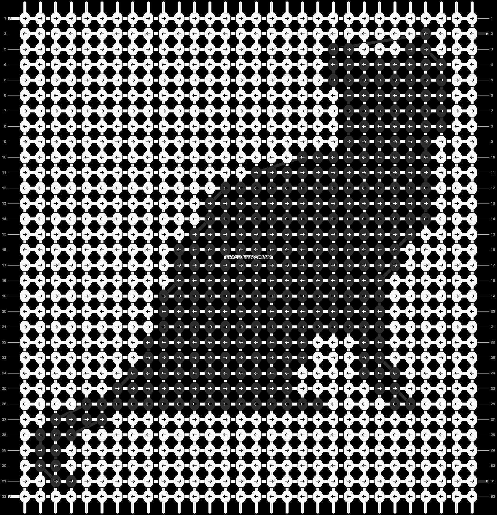 Alpha pattern #11892 pattern