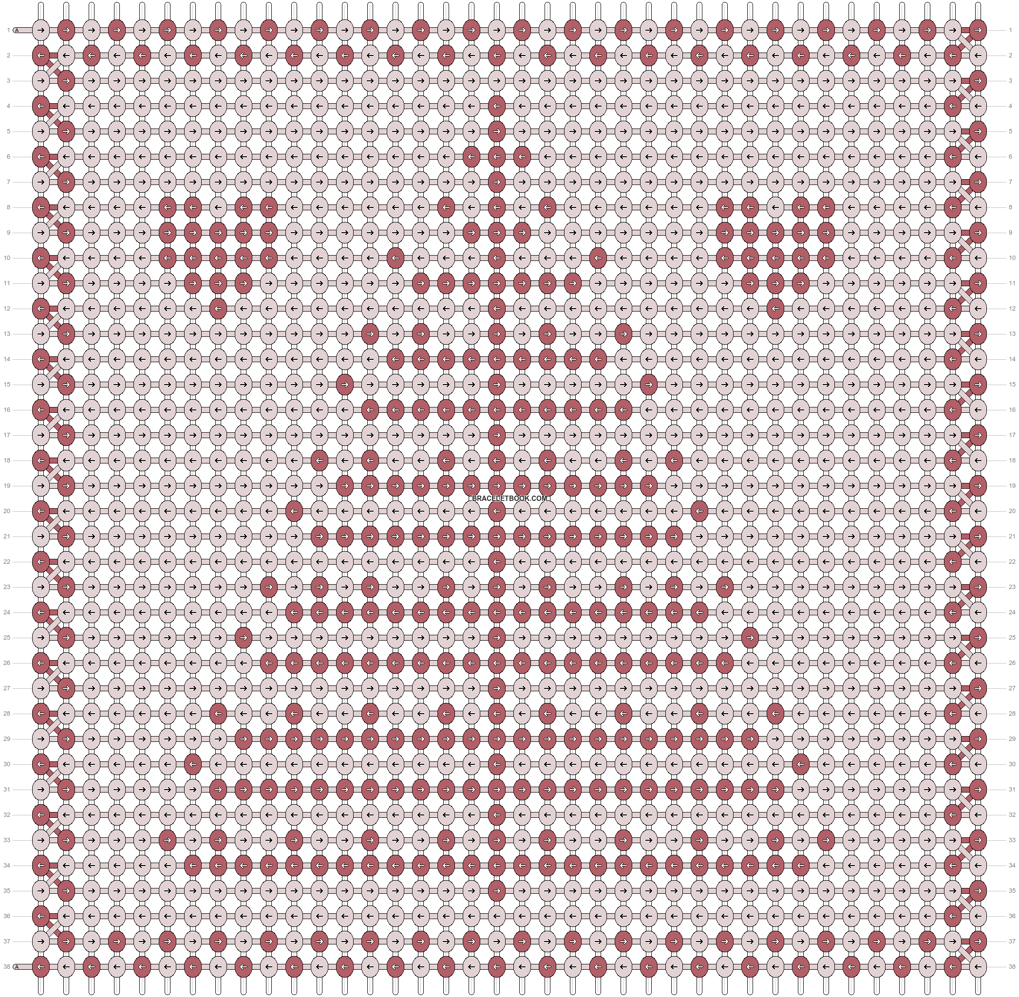Alpha pattern #11897 pattern