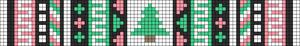 Alpha Friendship Bracelet Pattern #11904