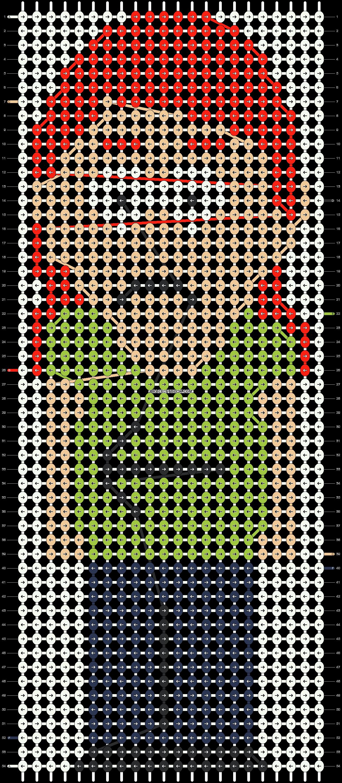 Alpha pattern #11906 pattern