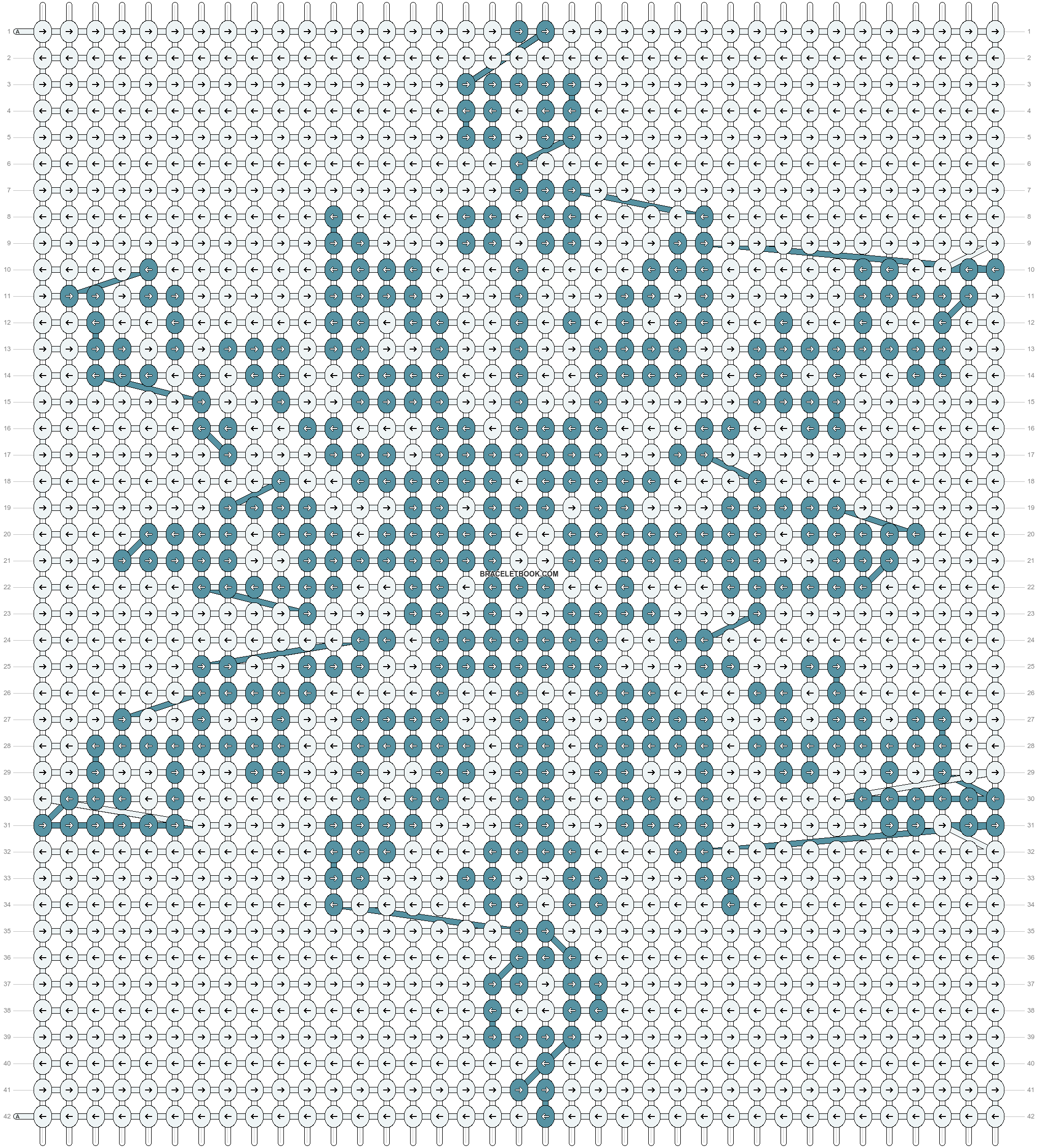 Alpha pattern #11908 pattern