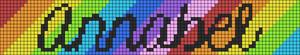 Alpha Friendship Bracelet Pattern #11911