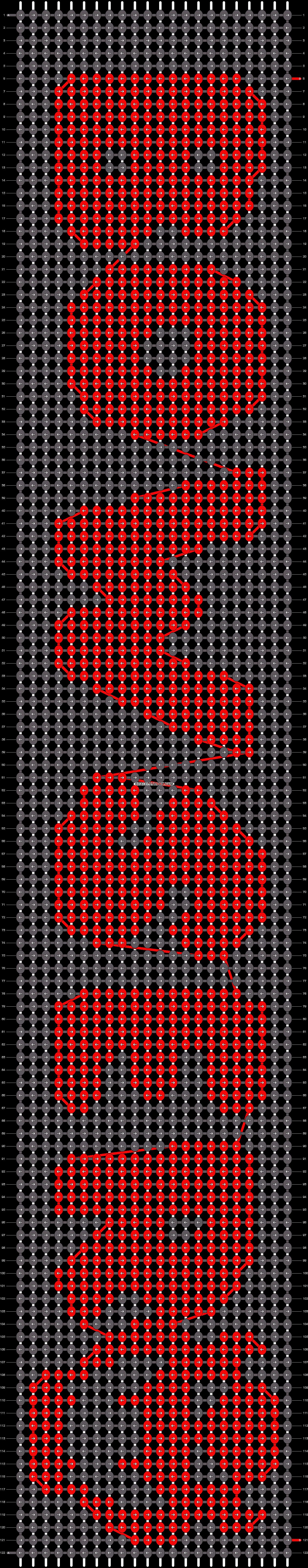 Alpha pattern #11914 pattern