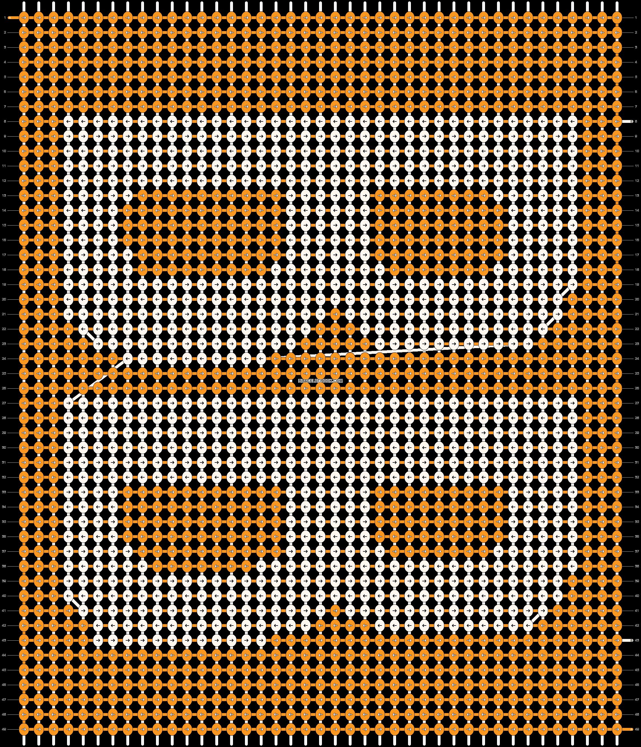 Alpha pattern #11924 pattern