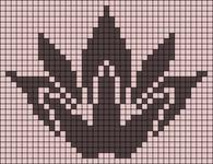 Alpha Friendship Bracelet Pattern #11932