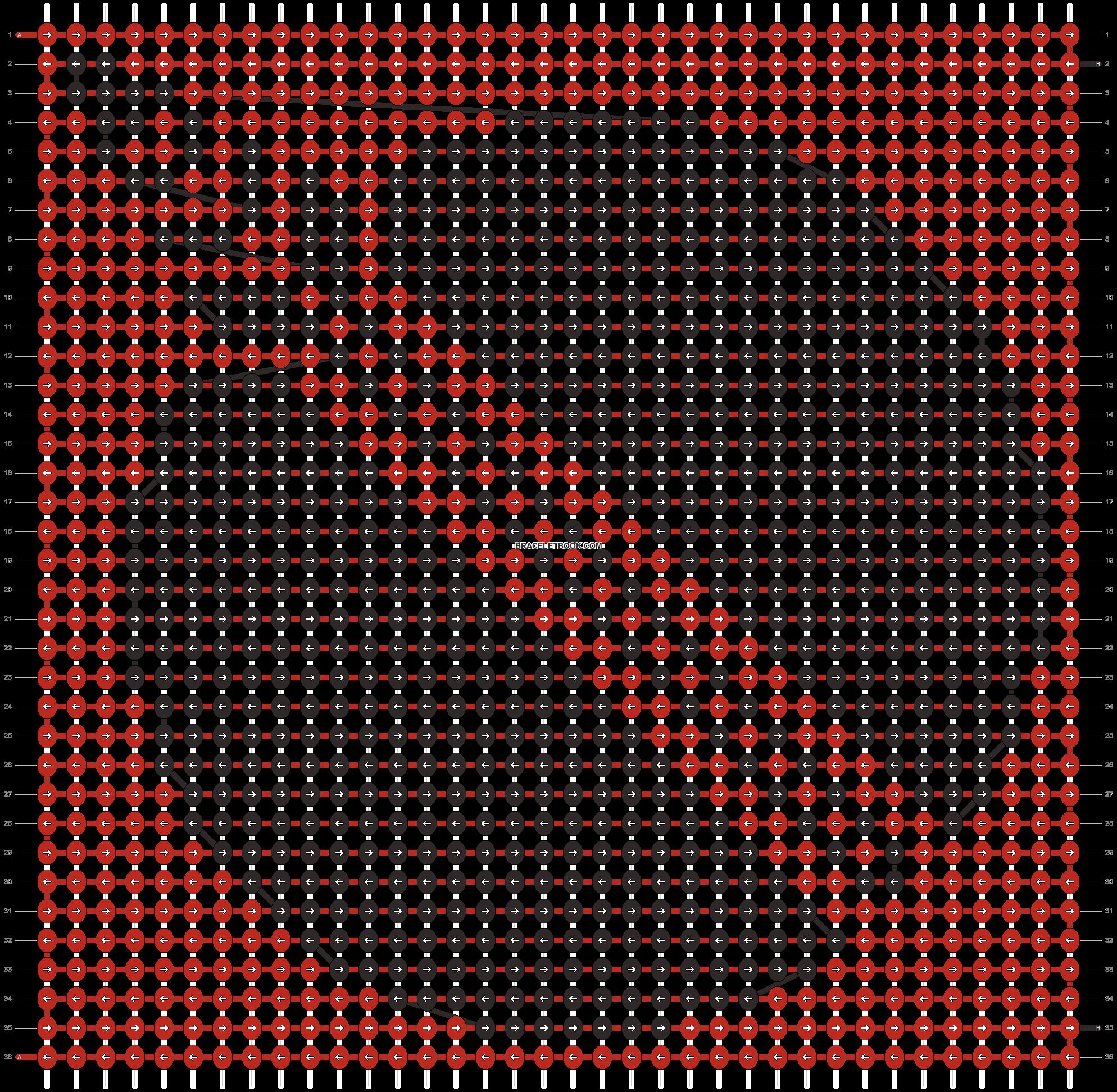 Alpha pattern #11934 pattern