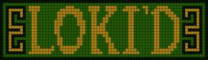 Alpha Friendship Bracelet Pattern #11935