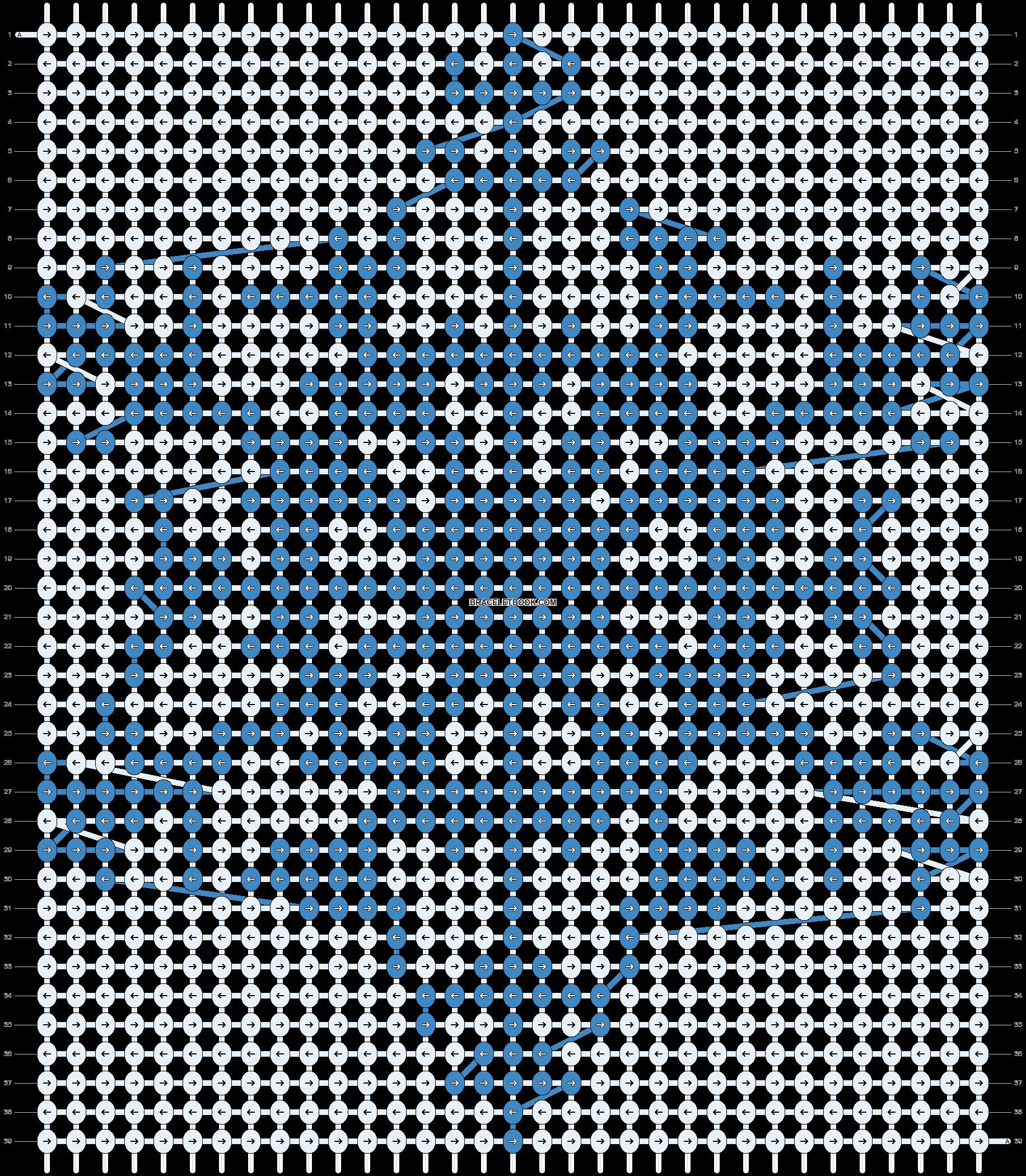 Alpha pattern #11936 pattern
