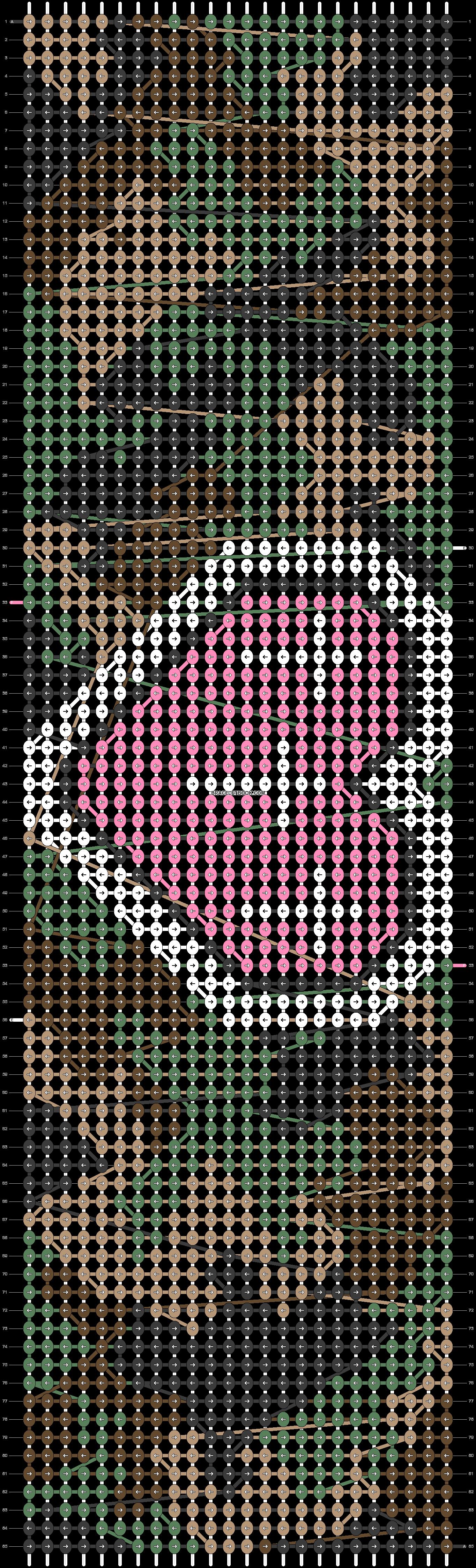 Alpha pattern #11939 pattern