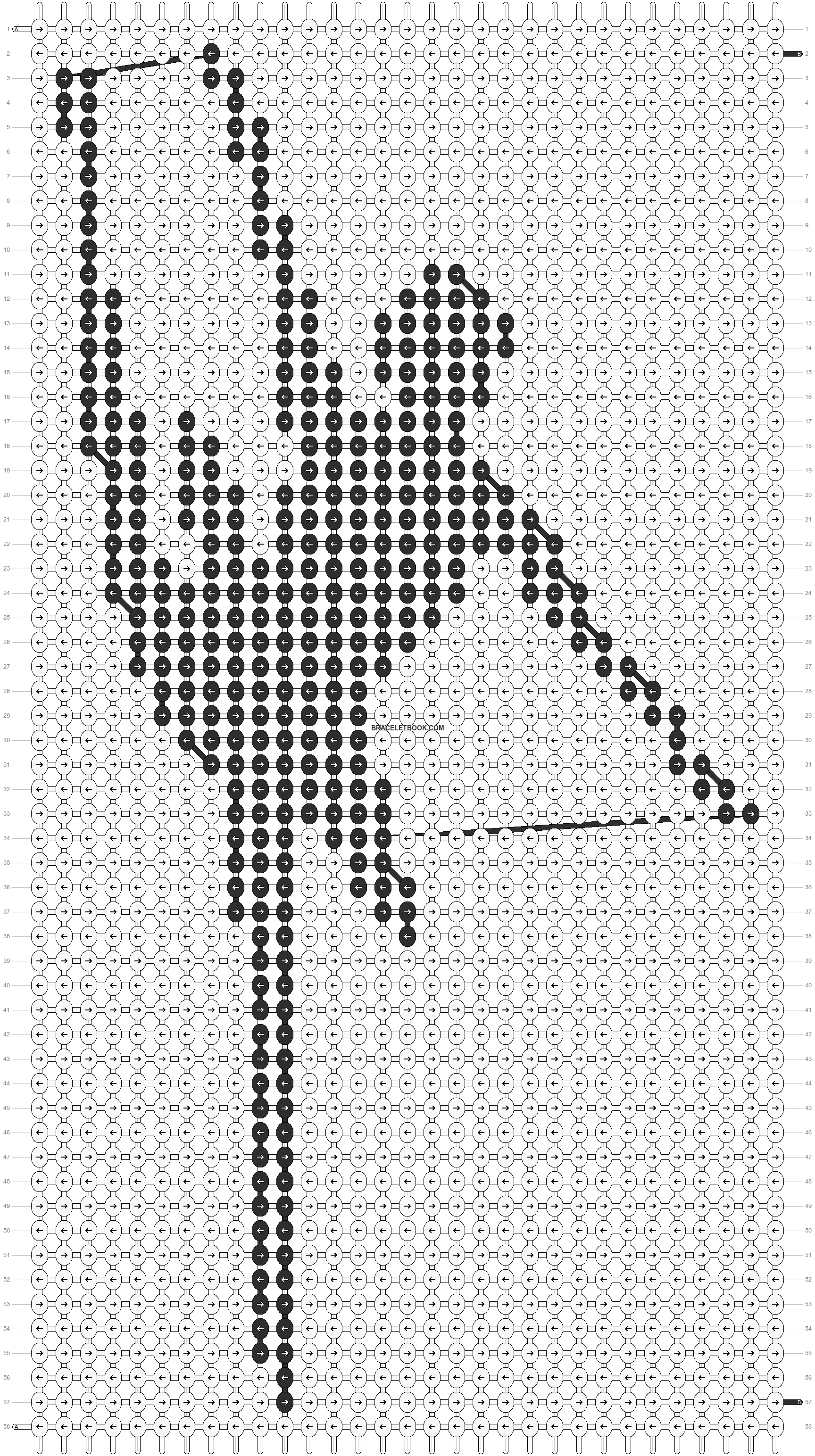 Alpha pattern #11942 pattern