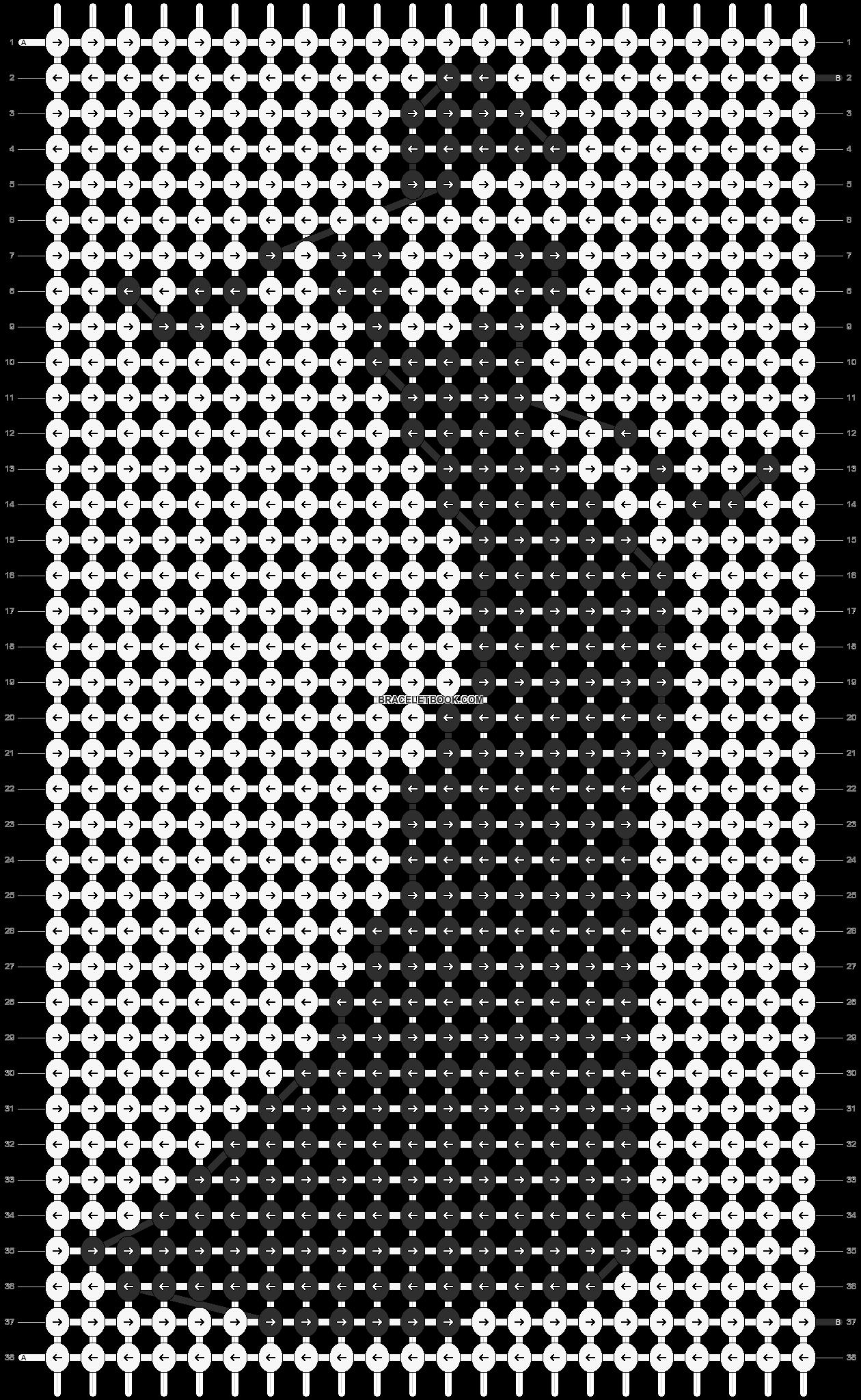 Alpha pattern #11943 pattern