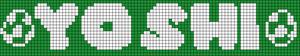 Alpha Friendship Bracelet Pattern #11945
