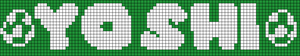 Alpha pattern #11945