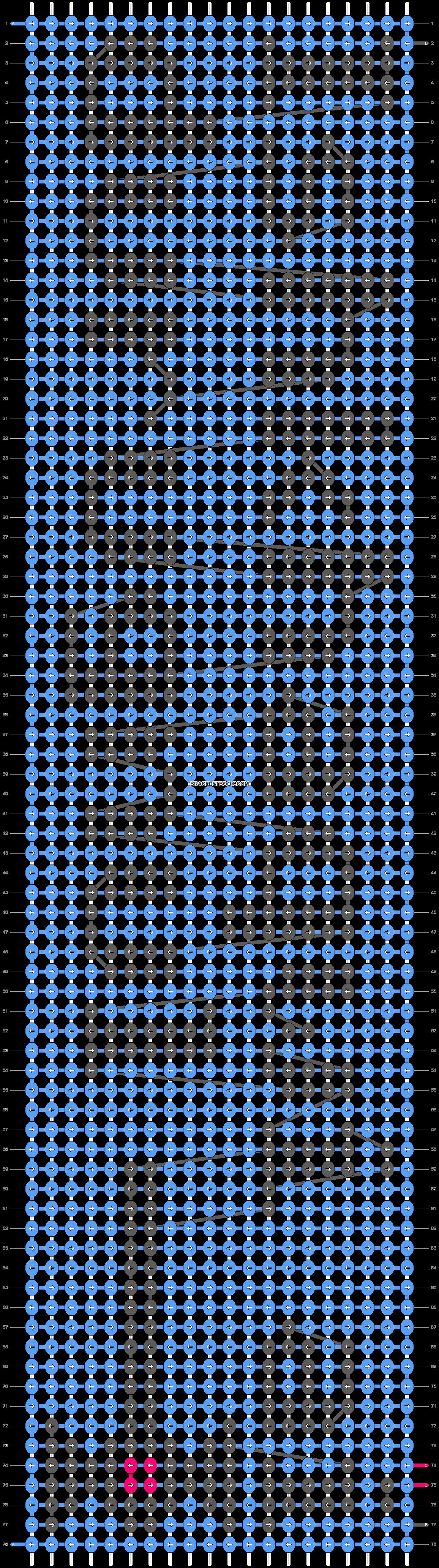 Alpha pattern #11947 pattern