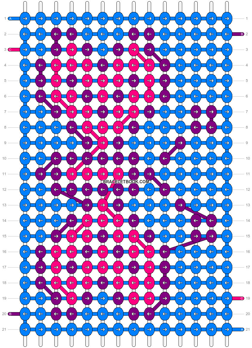 Alpha pattern #11948 pattern