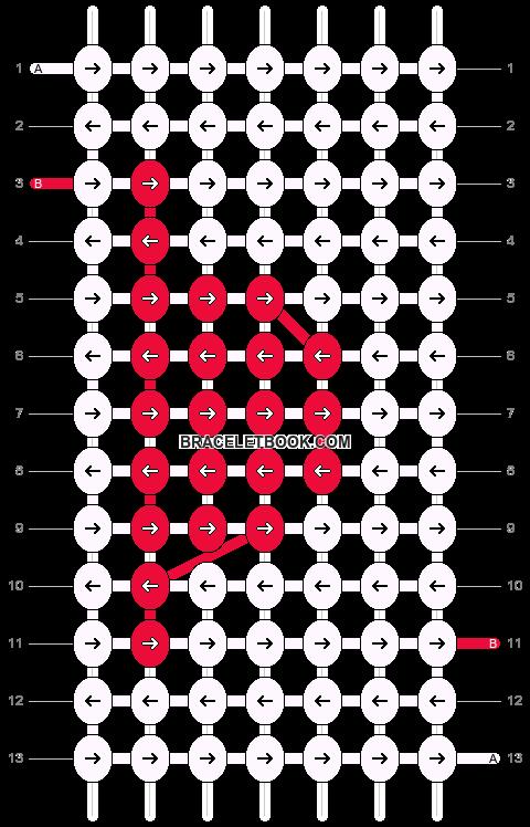 Alpha pattern #11949 pattern