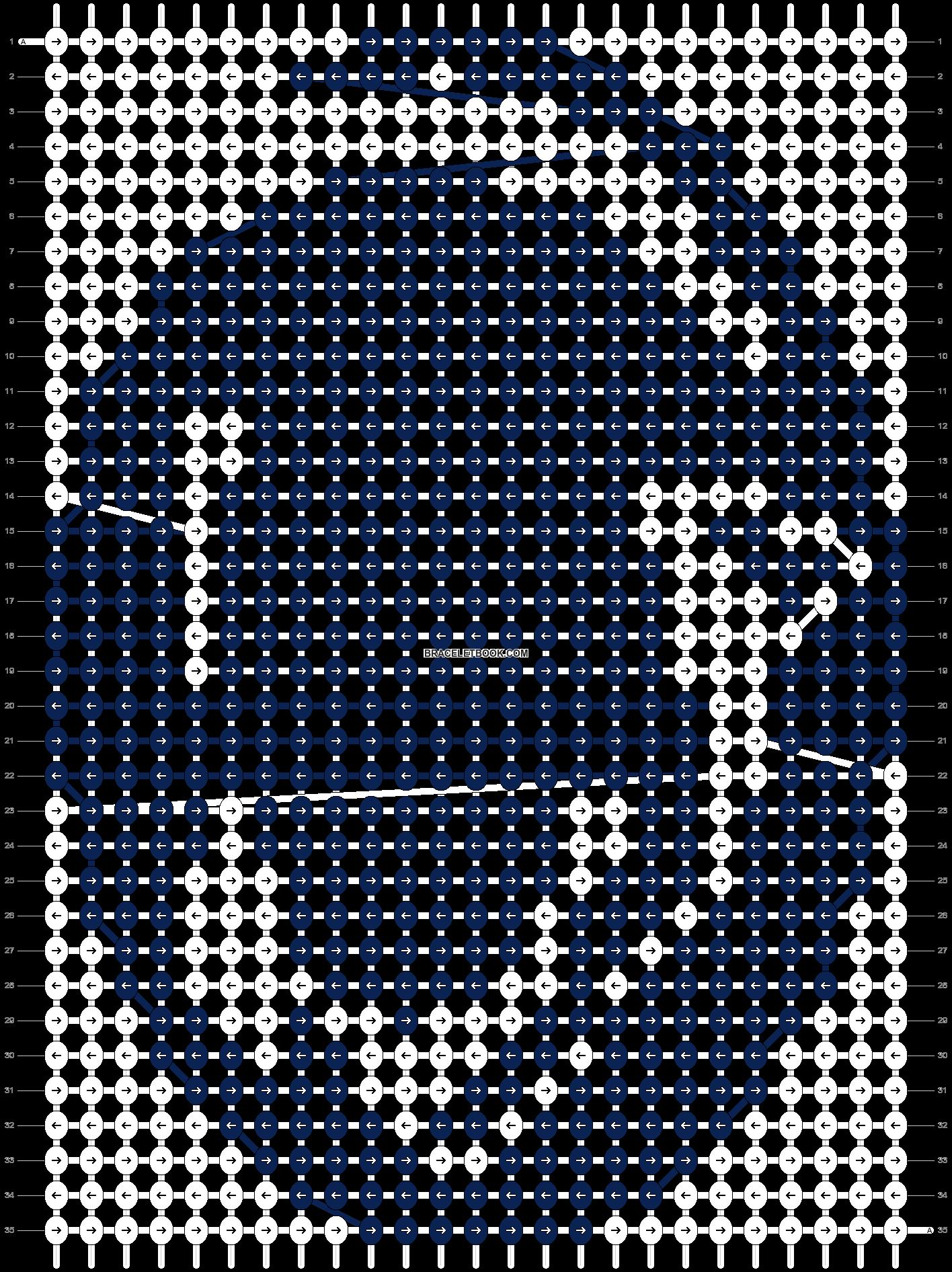 Alpha pattern #11950 pattern