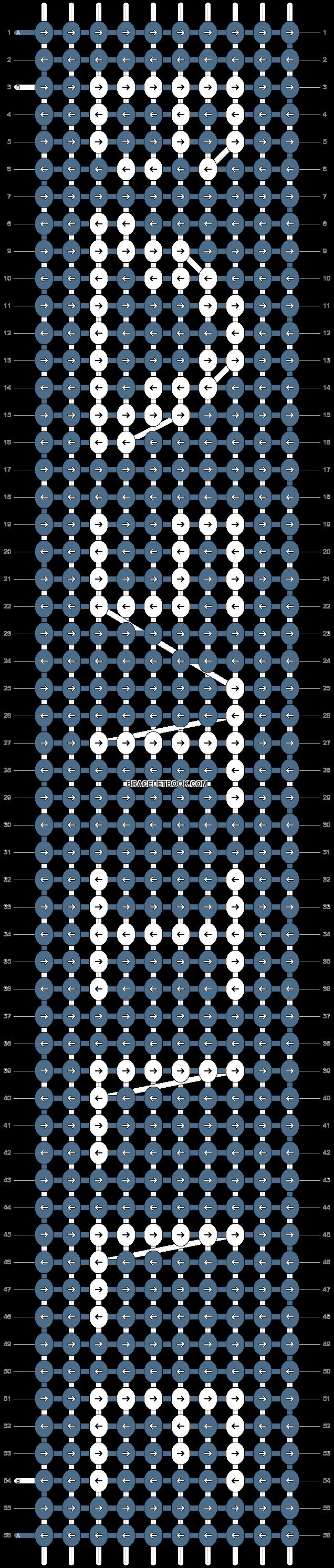 Alpha pattern #11958 pattern