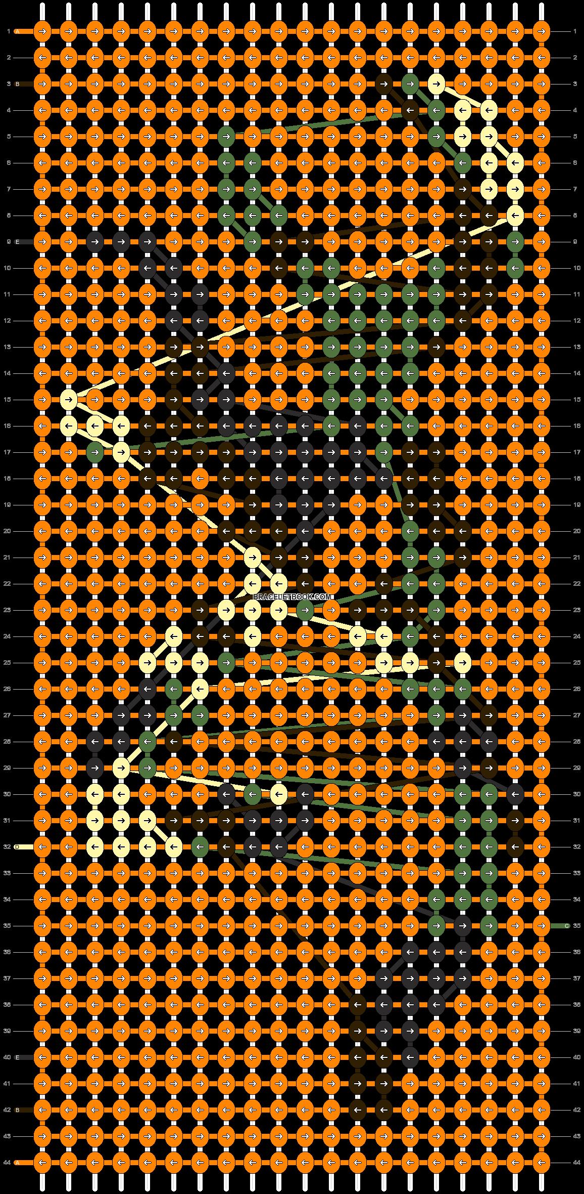 Alpha pattern #11960 pattern