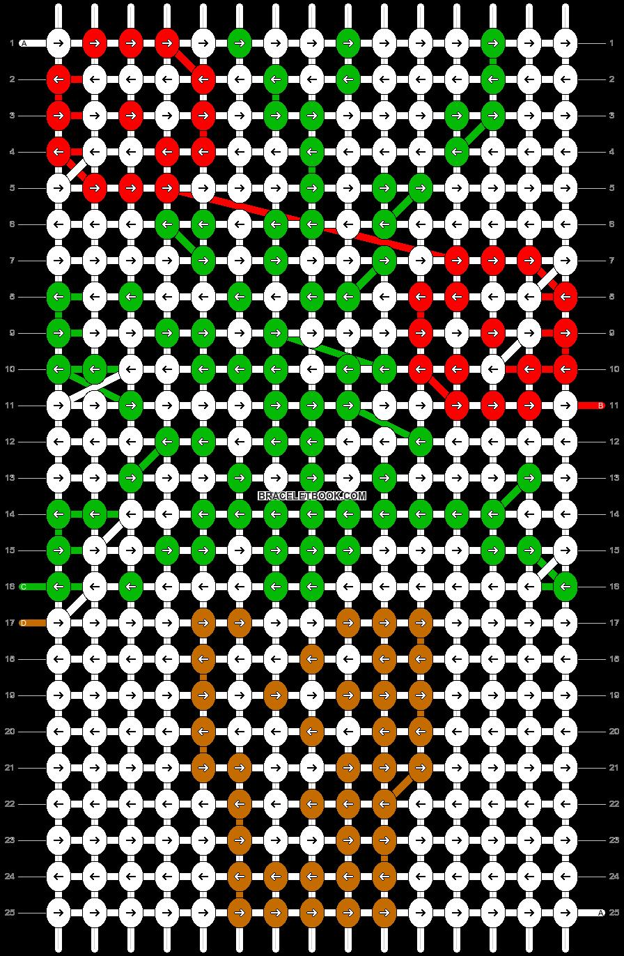 Alpha pattern #11968 pattern