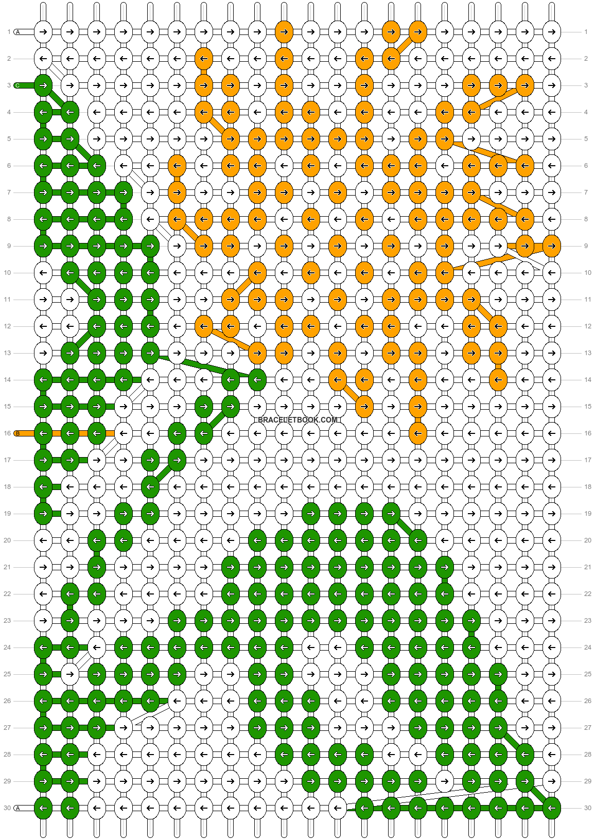 Alpha pattern #11969 pattern