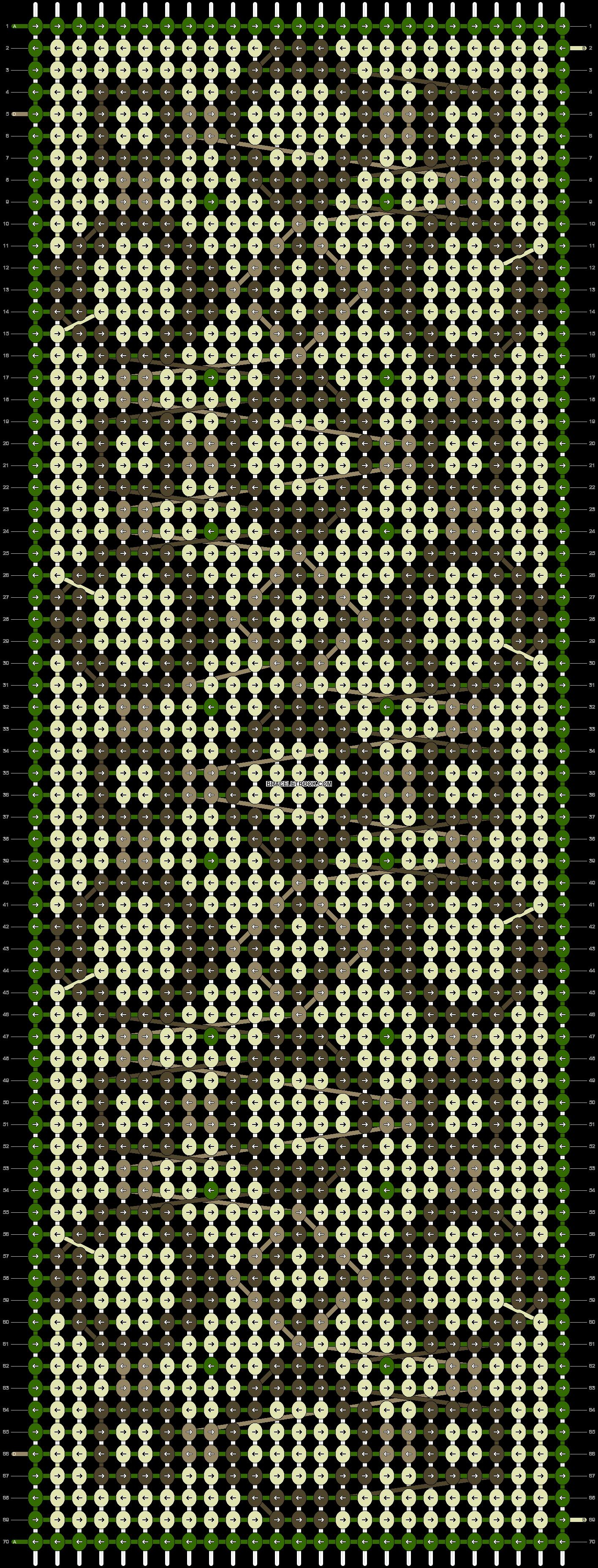 Alpha pattern #11971 pattern