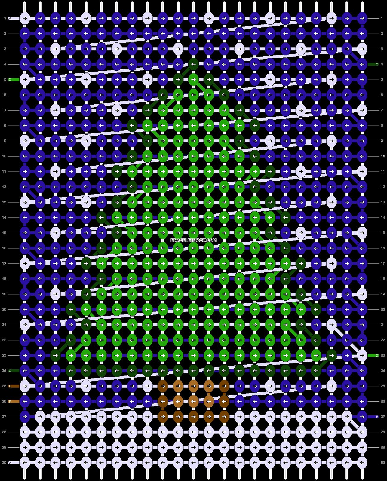 Alpha pattern #11972 pattern