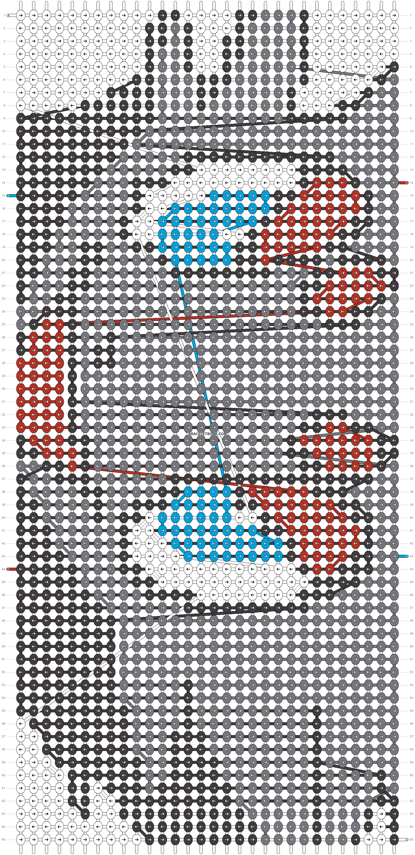 Alpha pattern #11973 pattern
