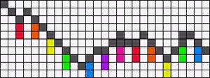 Alpha Friendship Bracelet Pattern #11975