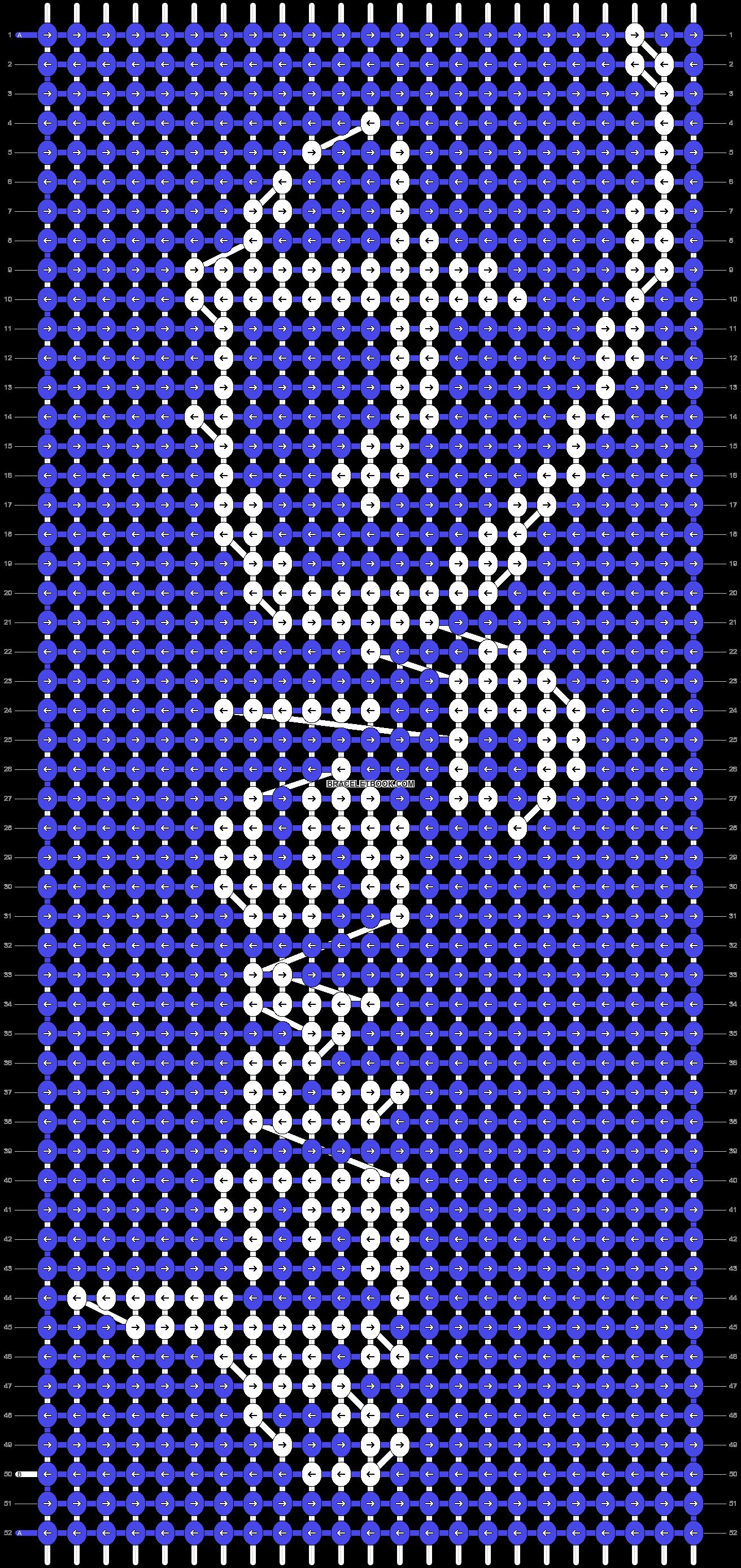 Alpha pattern #11982 pattern