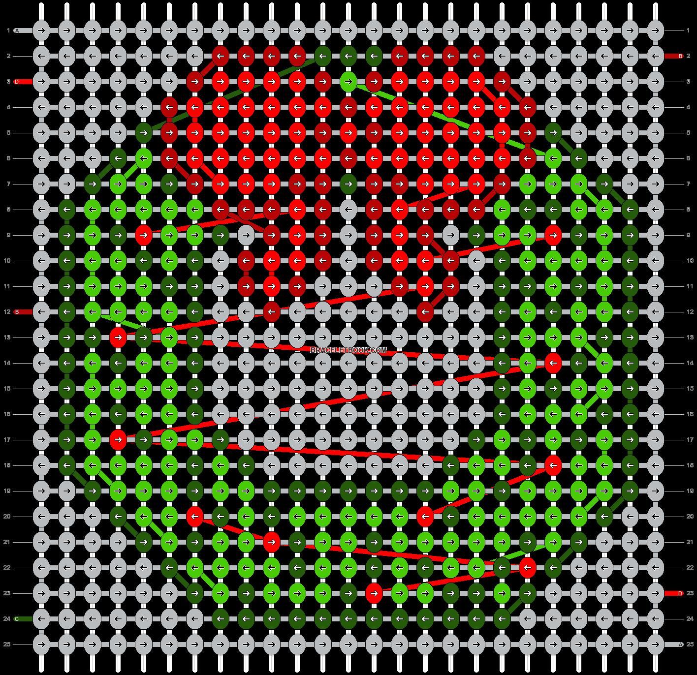Alpha pattern #11983 pattern