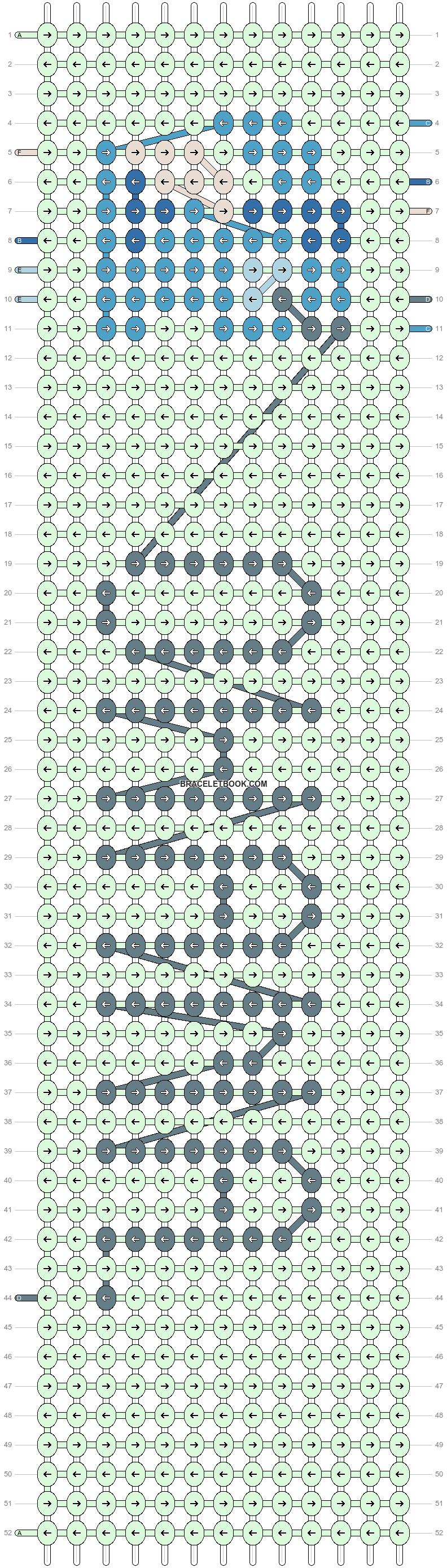 Alpha pattern #11985 pattern