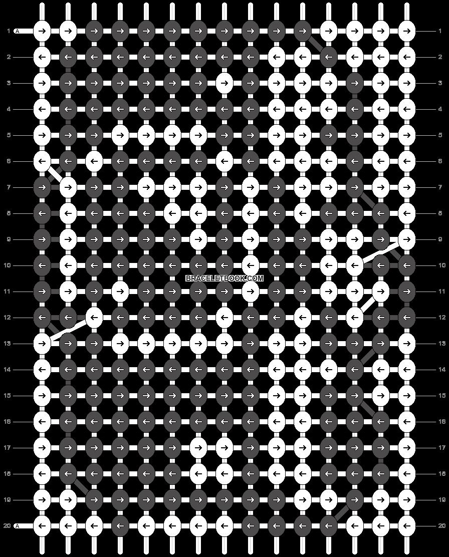 Alpha pattern #11994 pattern