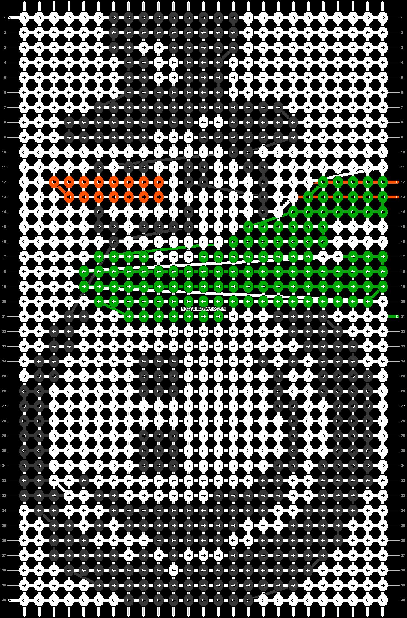Alpha pattern #11995 pattern