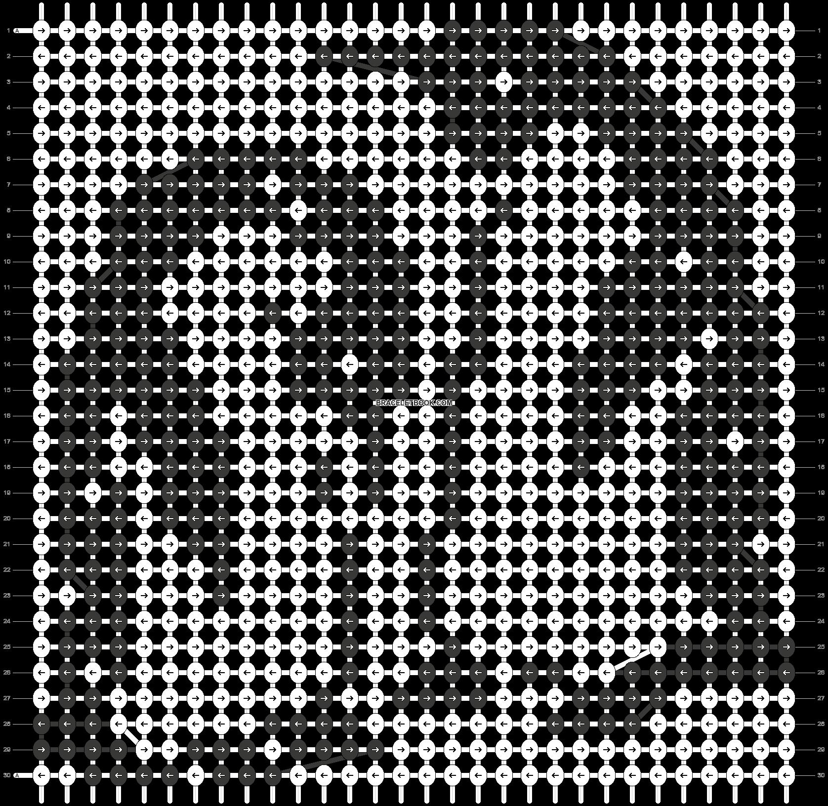 Alpha pattern #11996 pattern