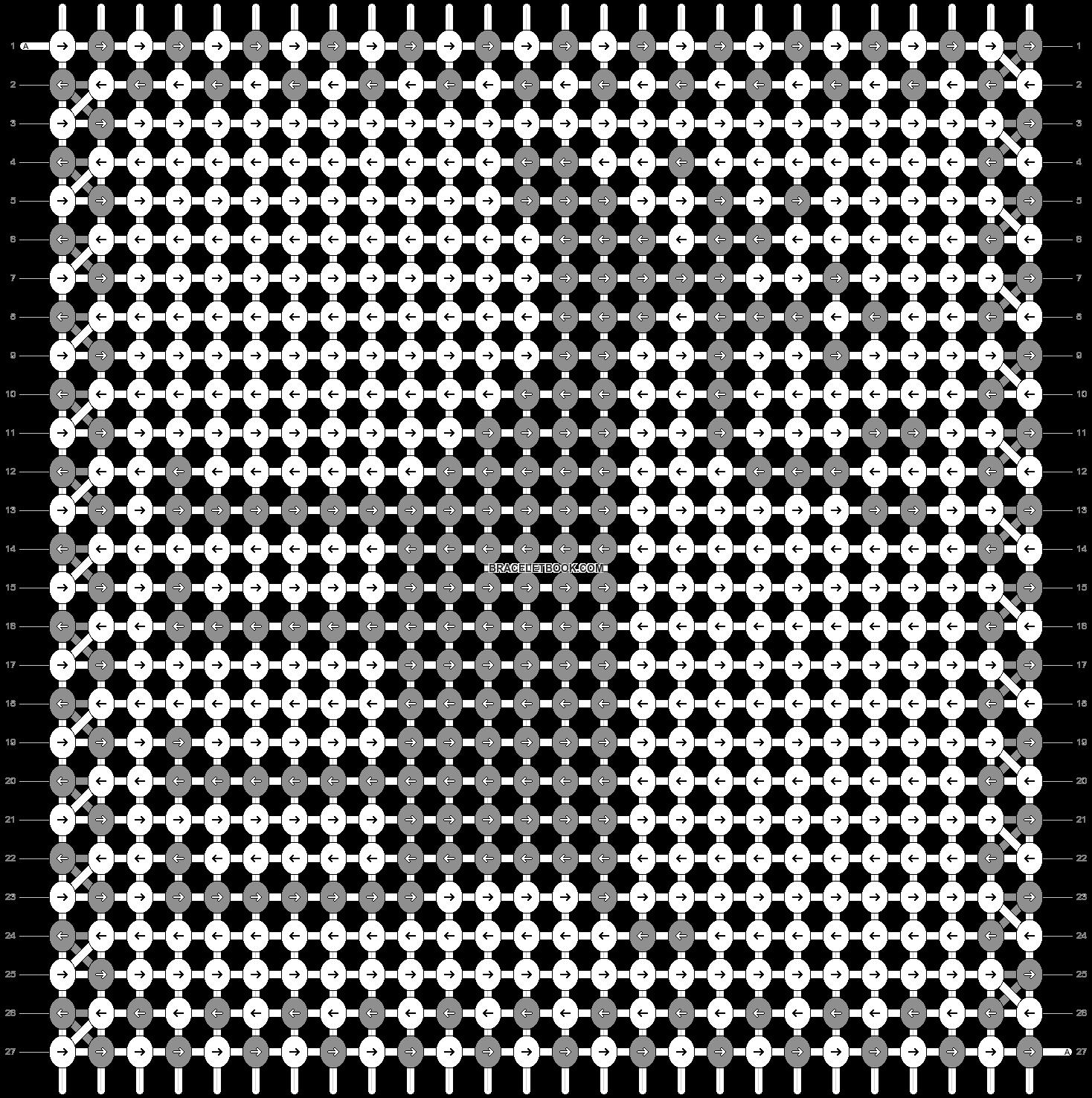 Alpha pattern #11999 pattern