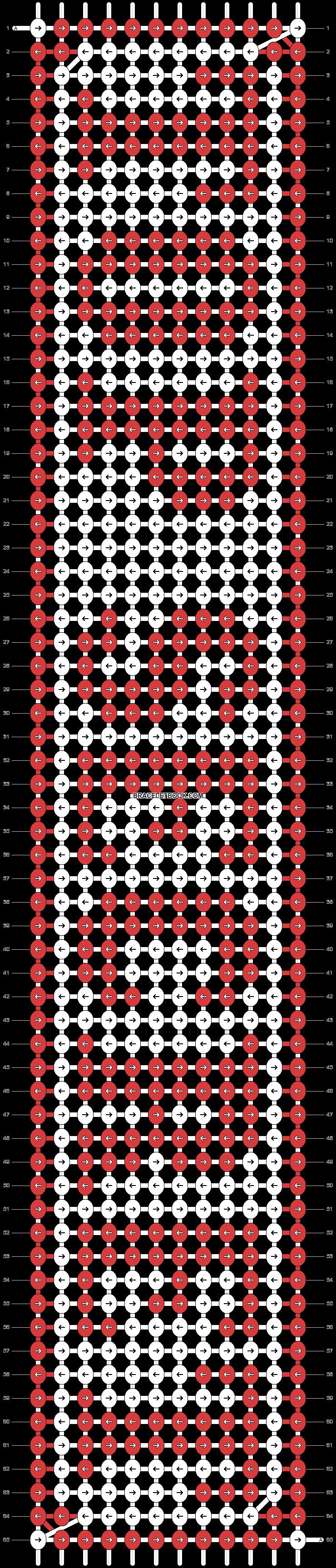 Alpha pattern #12000 pattern