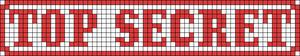 Alpha Friendship Bracelet Pattern #12000