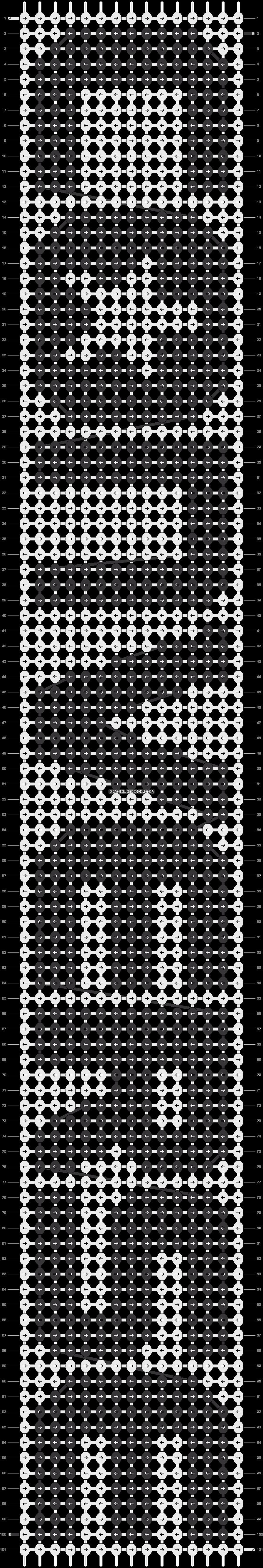 Alpha pattern #12001 pattern