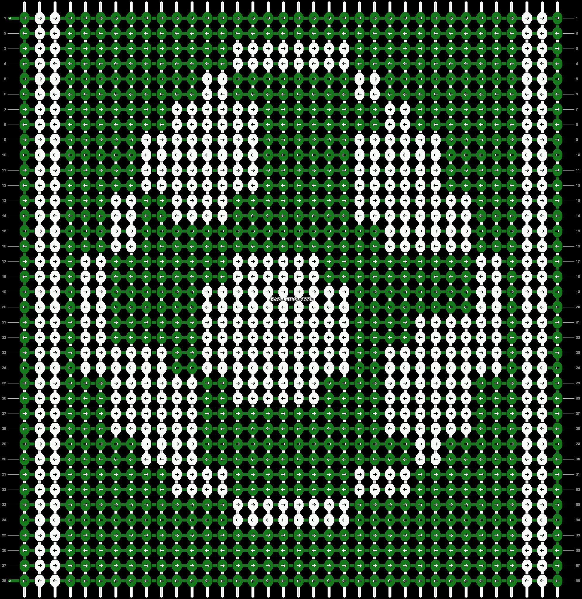 Alpha pattern #12005 pattern