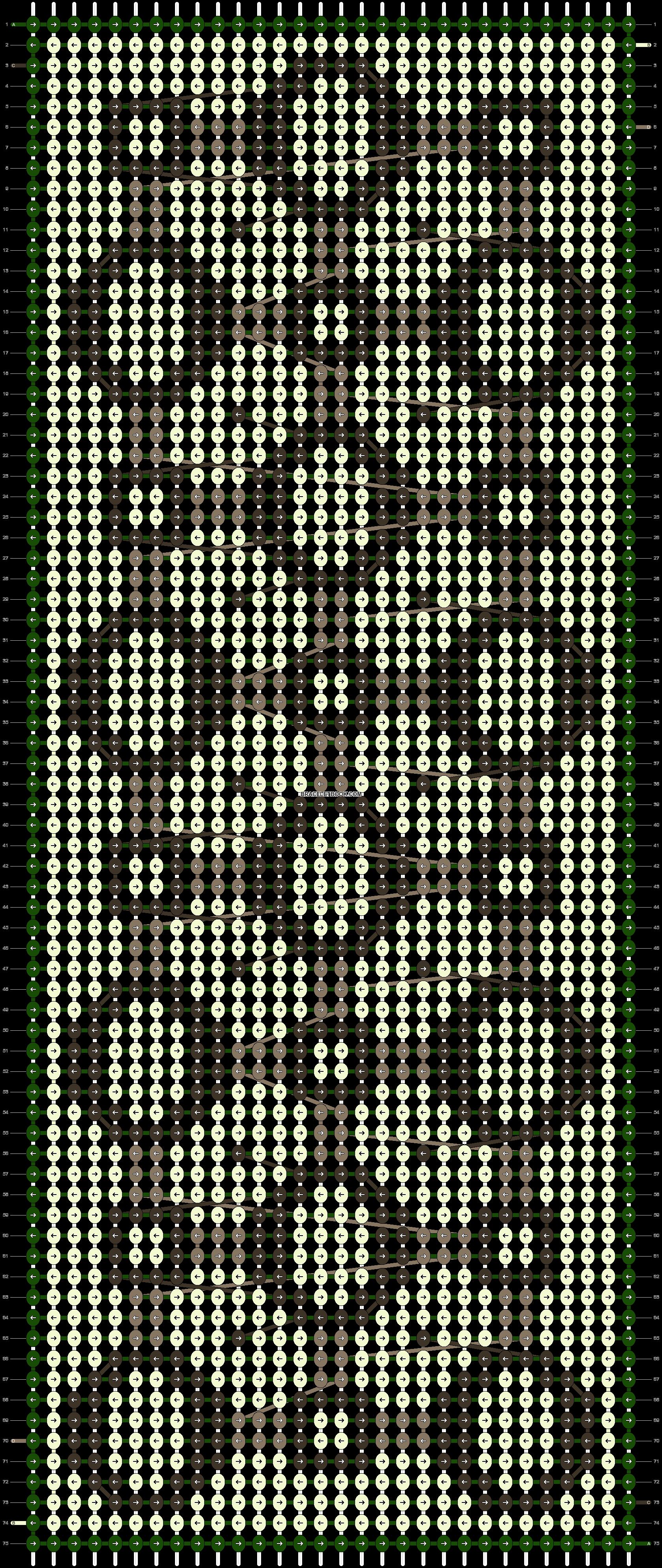 Alpha pattern #12027 pattern
