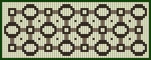 Alpha pattern #12027
