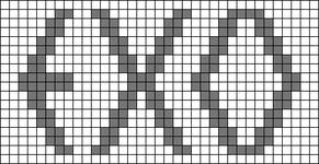 Alpha Friendship Bracelet Pattern #12031