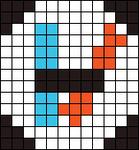 Alpha Friendship Bracelet Pattern #12034