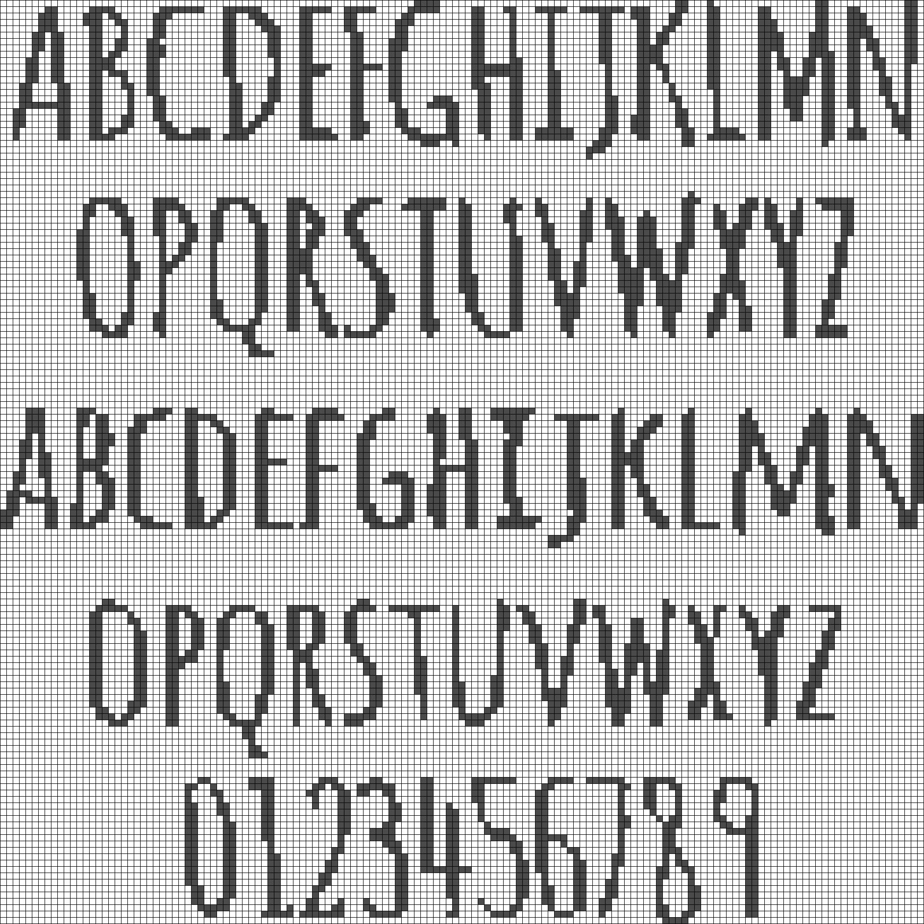 Alpha pattern #12036 preview