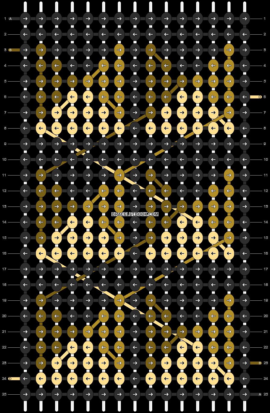 Alpha pattern #12037 pattern