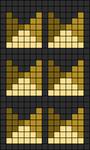 Alpha pattern #12037