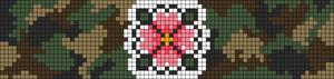 Alpha Friendship Bracelet Pattern #12047